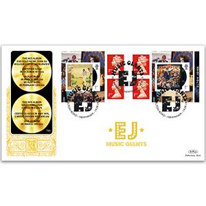 2019 Elton John Retail Booklet Gold 500