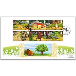 2019 The Gruffalo Stamps GOLD 500