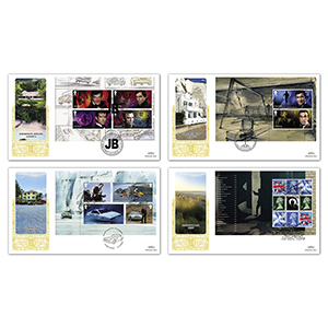 2020 James Bond PSB GOLD 500 - Set of 4