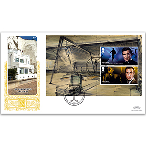 2020 James Bond PSB GOLD 500 - (P1) £1.60 x 2 Pane