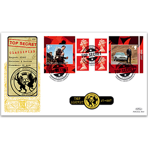 2020 James Bond Retail Booklet GOLD 500