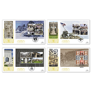 2020 End of WWII PSB GOLD 500 - Set of 4