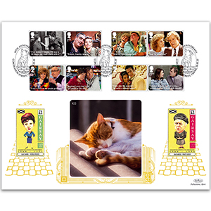 2020 Coronation Street Stamps GOLD 500 Cover