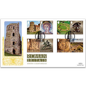 2020 Roman Britain Stamps GOLD 500