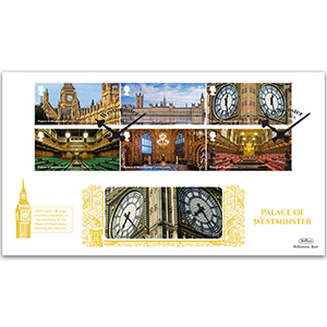 2020 Palace of Westminster Stamps GOLD 500