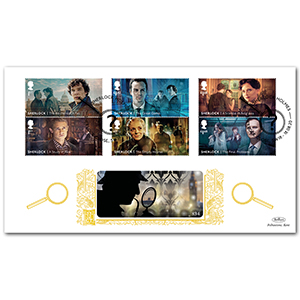 2020 Sherlock Stamps GOLD 500