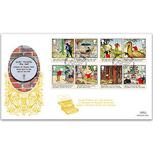 2020 Rupert Bear Stamps GOLD 500