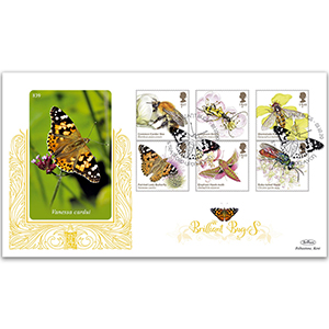 2020 Brilliant Bugs Stamps GOLD 500