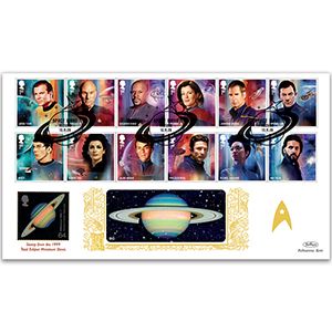 2020 Star Trek Stamps GOLD 500