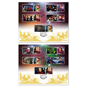 2020 Star Trek Generic Sheet GOLD 500 Pair