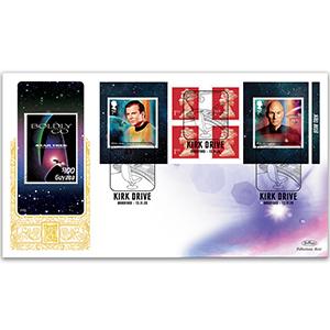 2020 Star Trek Retail Booklet GOLD 500