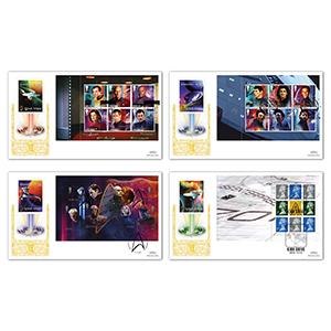 2020 Star Trek PSB GOLD Set of 4
