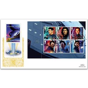 2020 Star Trek PSB GOLD 500 - (P2) 1st x 6 (Spock) pane