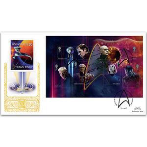 2020 Star Trek PSB GOLD 500 - (P3) M/S pane