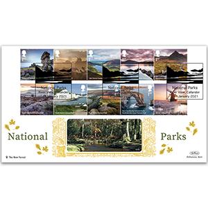 2021 National Parks Stamps GOLD 500