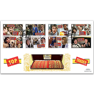 2021 Only Fools & Horses Stamps GOLD 500