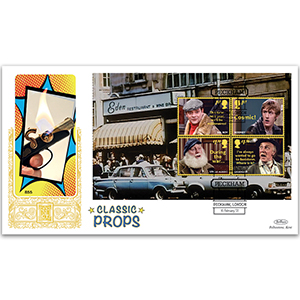 2021 Only Fools & Horses PSB GOLD 500 - (P3) M/S pane