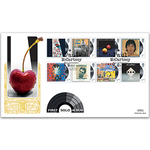 2021 Paul McCartney Stamps GOLD 500