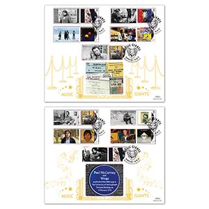 2021 Paul McCartney Generic Sheet GOLD 500 Pair