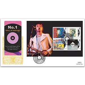 2021 Paul McCartney PSB GOLD 500 - (P2) 4 x £1.70 Pane