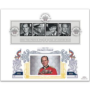 2021 HRH The Prince Philip, Duke of Edinburgh GOLD 500