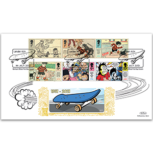 2021 Dennis and Gnasher Stamps GOLD 500