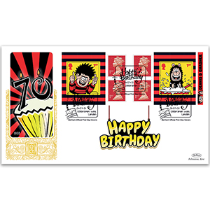 2021 Dennis and Gnasher Retail Booklet GOLD 500