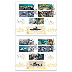 2021 Wild Coasts Collector Sheet GOLD 500 Pair
