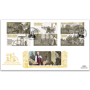 2021 Industrial Revolutions Stamps GOLD 500