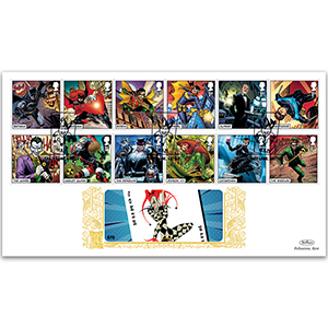 2021 DC Collection Stamps GOLD 500
