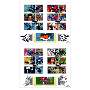 2021 DC Collection Collector Sheet GOLD 500 Pair
