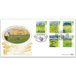 1994 Golf GOLD 500 - Honourable Company of Edinburgh Golfers 250th