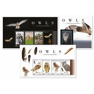 St Kitts Owl Sheets (PSM1409-11)