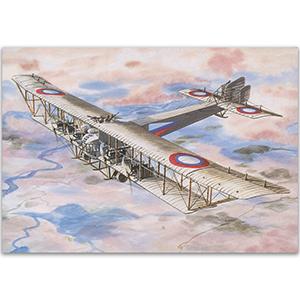 Sikorsky llya Mourometz - Aircraft of WWI Postcard
