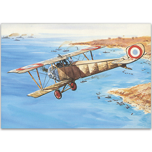 Nieuport 10 - Aircraft of WWI Postcard