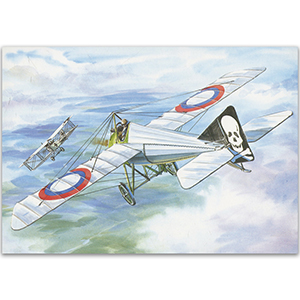 Morane-Saulnier N - Aircraft of WWI Postcard