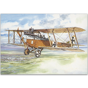 Brandenburg C1 - Aircraft of WWI Postcard