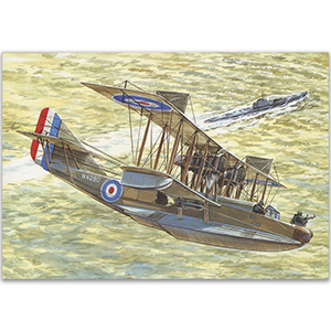 Felixstowe F.2 - Aircraft of WWI Postcard