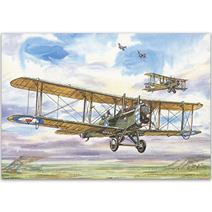 AIRCO D.H.4 - Aircraft of WWI Postcard