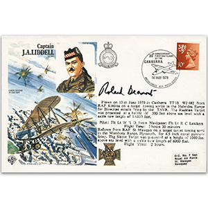 1979 Captain J. Liddell VC - Signed by Roland Beaumont