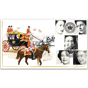 2002 Golden Jubilee Hand Painted Cover - Richard Barton