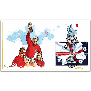 2002 World Cup Handpainted Cover - Tony Blain