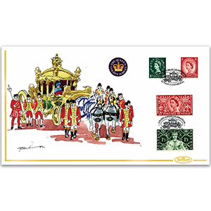 2002 Golden Jubilee Handpainted Cover - Richard Barton