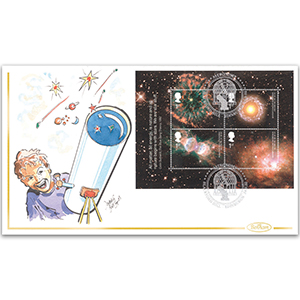 2002 Astronomy M/S Handpainted Cover - Donald Bird
