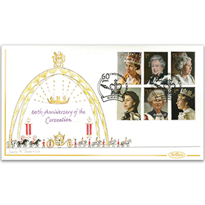 2013 Coronation 60th Anniversary Handpainted Cover - Jennifer M Toombs