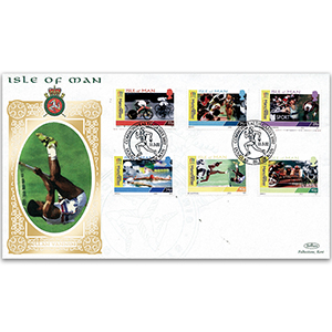 2002 Isle of Man - Commonwealth Games - Six Events