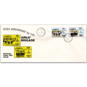 1993 100th Anniversary of the Girls' Brigade