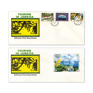 1994 Tourism in Jamaica - Pair of Covers