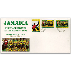 1998 Jamaica First Appearance in the World Cup Finals