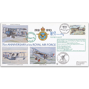 1993 BIOT RAF 75th -  No.70 Sqn. Special - Signed by Air Cdr. A. C. Curry OBE (Black Rod)